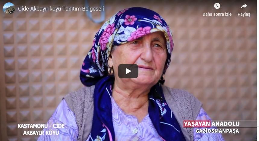 Cide Akbayır köyü Tanıtım Belgeseli