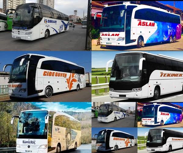 Cide'de tüm otobüs firmaları seferlerini iptal etti