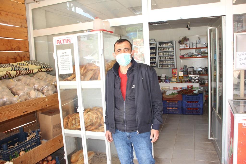 Bu köyde pide ve ekmek ücretsiz